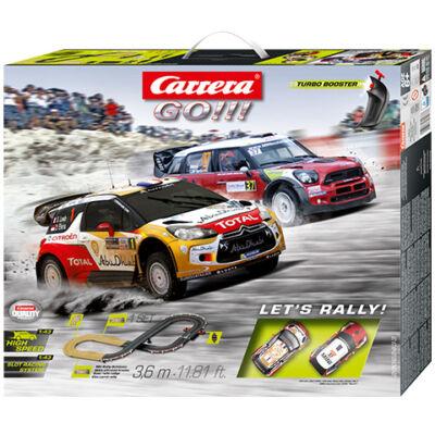 Carrera GO!: Let's Rally! versenypálya