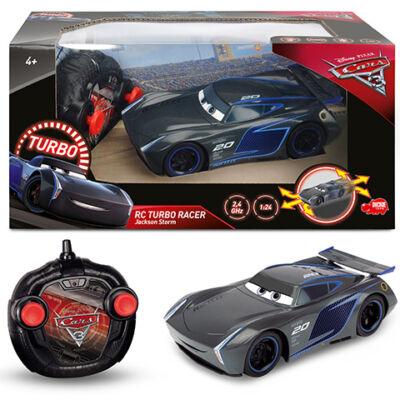 Verdák: RC Turbo Racer Jackson Storm távirányítós autó 2,4 GHz 1/24 – Dickie Toys