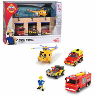Sam a tűzoltó: Mentőcsapat játékszett – Dickie Toys