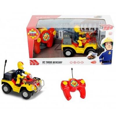 Sam a tűzoltó: Mercury távirányítós quad 1/24 - Dickie Toys