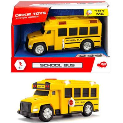 Iskolabusz 15 cm-es fénnyel és hanggal – Dickie Toys