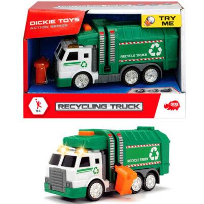 Kukásautó 15 cm-es fénnyel és hanggal – Dickie Toys
