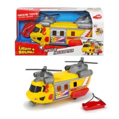 Rescue mentőhelikopter fénnyel és hanggal 30 cm-es – Dickie Toys