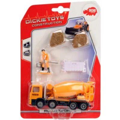 Road Works munkagépek 4 féle változatban - Simba Toys