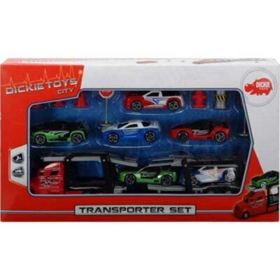 Transporter autószállító szett – Simba Toys