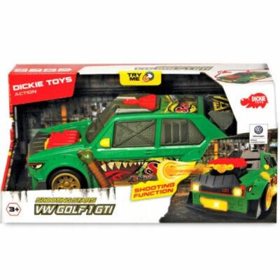 Volkswagen Golf 1 GTI zöld színben fénnyel és hanggal – Dickie Toys