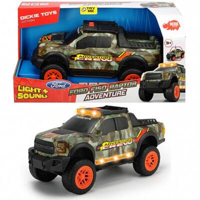 Ford F150 Raptor Adventure autó fénnyel és hanggal 33cm - Dickie Toys