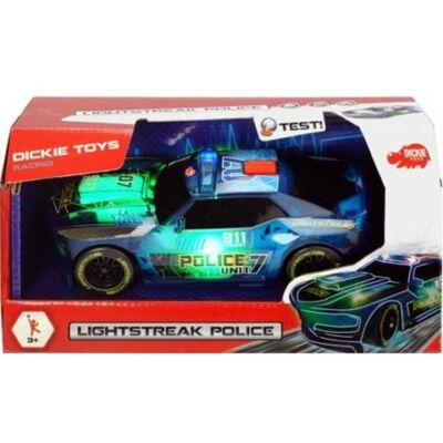 Lightstreak rendőrségi autó fénnyel és hanggal 20cm - Simba Toys