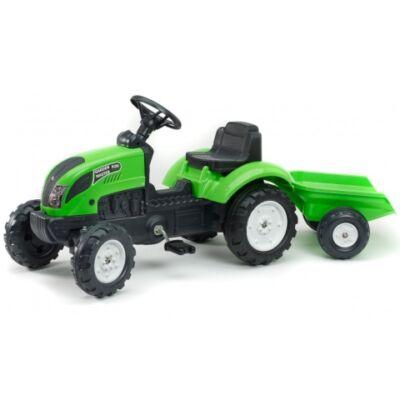 Garden Master 620i lábbal hajtós traktor zöld színben - FALK