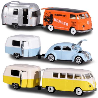 Majorette: Klasszikus Volkswagen utánfutóval 3 féle változatban – Simba Toys