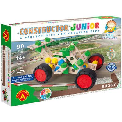 Junior 3 az 1-ben buggy fa építőjáték 90 db-os