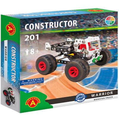 Warrior monster truck fém építőjáték 201 db-os