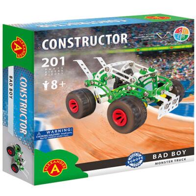 Bad Boy monster truck fém építőjáték 201 db-os