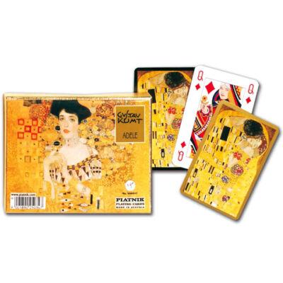 Művész römi kártya - Klimt Adele 2x55 lap - Piatnik
