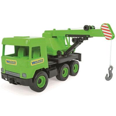 Middle Truck: Darus autó 43 cm zöld – Wader