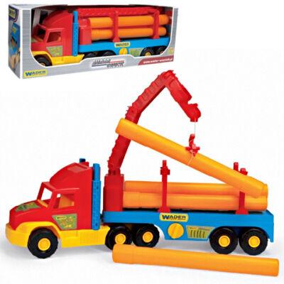 Super Truck csővezeték szállító teherautó – Wader