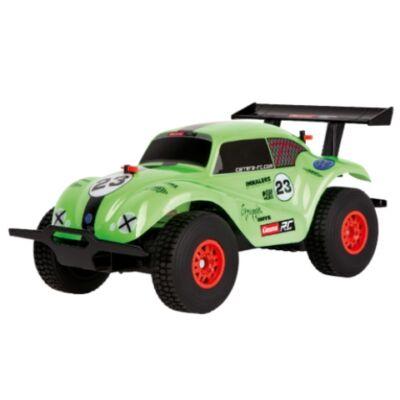 Carrera RC: VW Beetle zöld távirányítós terepjáró autó 1/20 2.4GHz