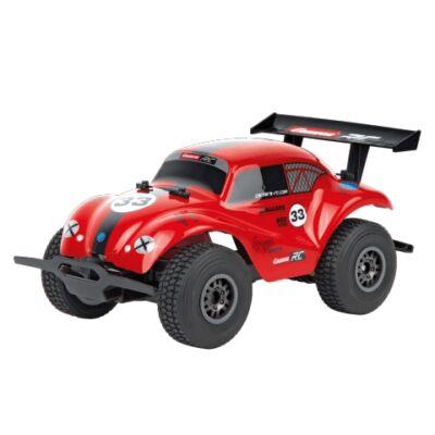 Carrera RC: VW Beetle piros távirányítós terepjáró autó 1/20 2.4GHz