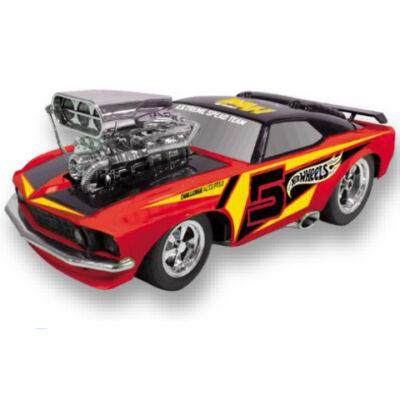 Hot Wheells Turbo Tuning Classic Monster hátrahúzós kisautó 28 cm – Mondo Motors