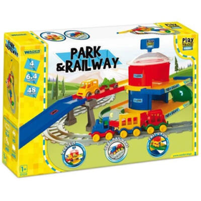 Play Track vasútpálya és parkolóház