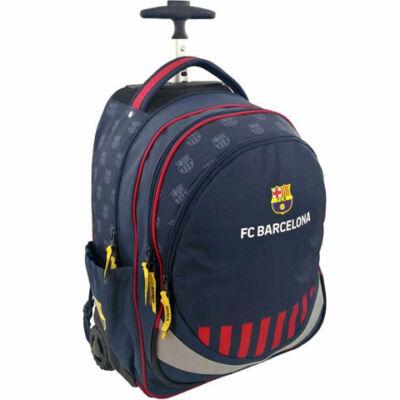 FC Barcelona húzható kék iskolatáska hátizsák