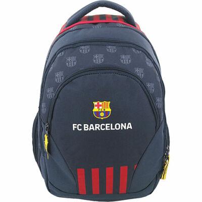 FC Barcelona lekerekített iskolatáska hátizsák 31×17×45 cm
