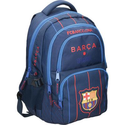 FC Barcelona lekerekítatt iskolatáska, hátizsák 30×20×45 cm
