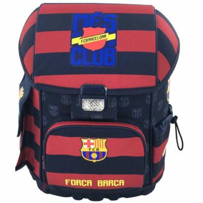 FC Barcelona: Forca Barca ergonomikus merevfalú iskolatáska, hátizsák 31×22×40 cm