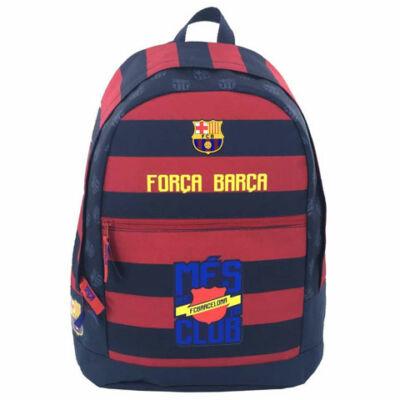 FC Barcelona: Forca Barca lekerekített iskolatáska, hátizsák 31×13×43 cm