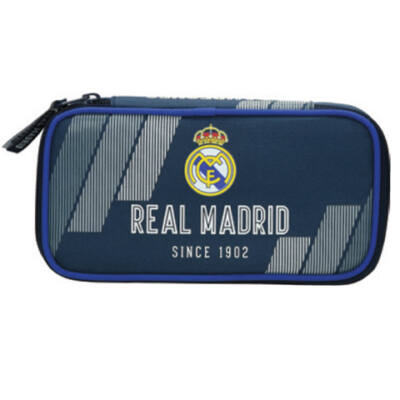 Real Madrid lekerekített tolltartó