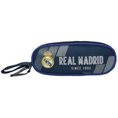 Real Madrid ovális tolltartó 21×8x9,5 cm