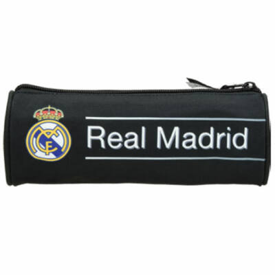 Real Madrid fekete hengeres tolltartó 20×7x7 cm