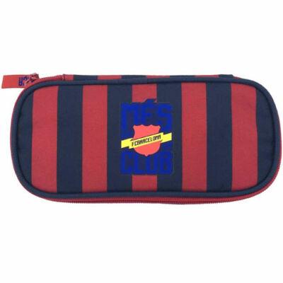 FC Barcelona: Ovális kialakítású tolltartó 22×11×4 cm