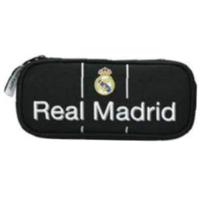 Real Madrid ovális tolltartó 22×11×6 cm