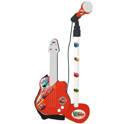 Verdák állványos mikrofon gitárral