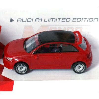 Fast Road: Audi A1 Limited Edition piros fém autómodell 1/43 – Mondo Motors