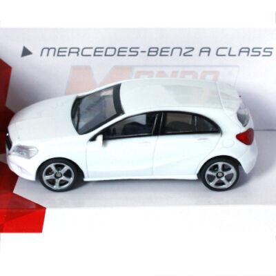 Fast Road: Mercedes-Benz A Class fehér fém autómodell 1/43 – Mondo Motors