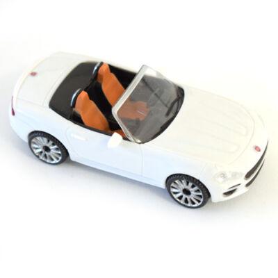 Fast Road: Fiat 124 Spider fehér fém autómodell 1/43 – Mondo Motors