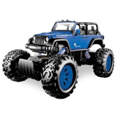Stunt Truck kék hátrahúzós kisautó 1/43 – Mondo Motors