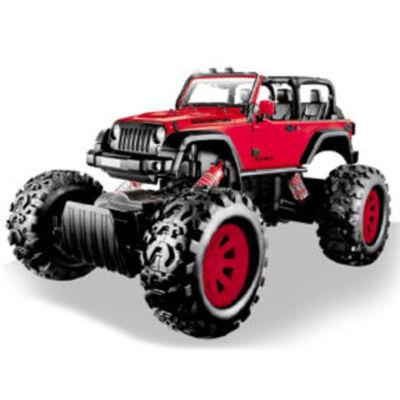 Stunt Truck piros hátrahúzós kisautó 1/43 – Mondo Motors
