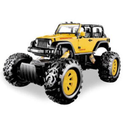 Stunt Truck sárga hátrahúzós kisautó 1/43 – Mondo Motors