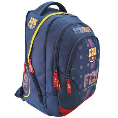 FC Barcelona címeres lekerekített iskolatáska, hátizsák