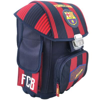 FC Barcelona csíkos anatómiai iskolatáska, hátizsák