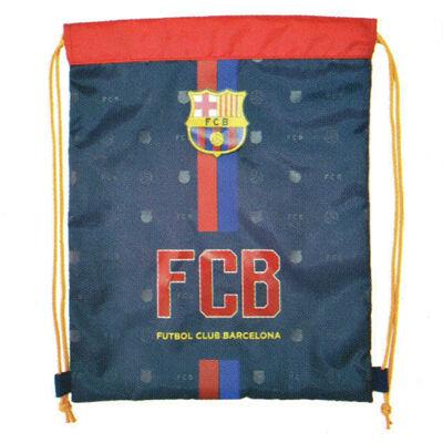 FC Barcelona tornazsák, sportzsák 32×38 cm