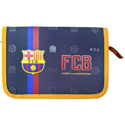 FC Barcelona kihajtható töltött tolltartó 20,5x4x14cm