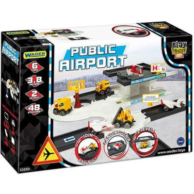 Play Track városi repülőtér játékszett