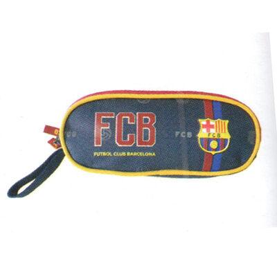 Barcelona ovális 2 cipzáras tolltartó