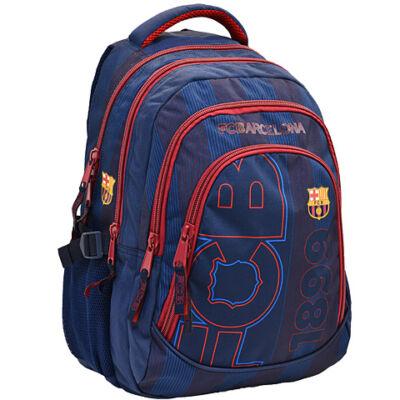 FC Barcelona ergonomikus iskolatáska hátizsák kék színben