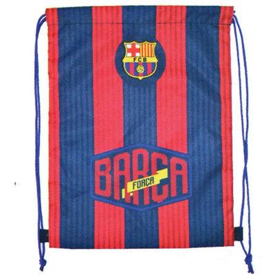 FC Barcelona tornazsák, sportzsák gráni vörös-kék csíkos