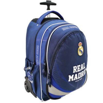 Real Madrid húzható iskolatáska, hátizsák 33X18X47 cm